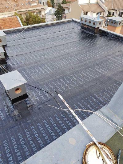 Ремонт на плоски покриви с хидроизолация - Изображение 2