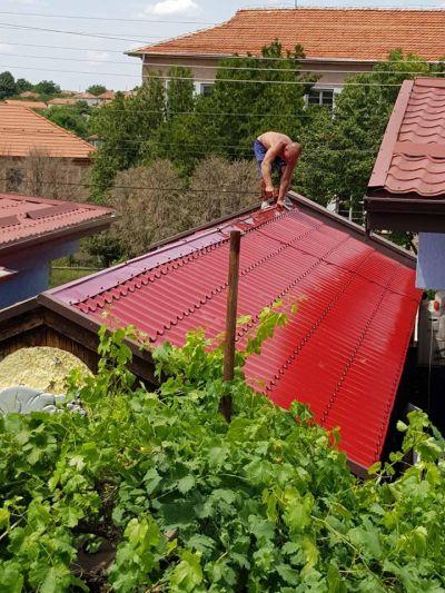Изграждане на покрив с метални керемиди - Изображение 1